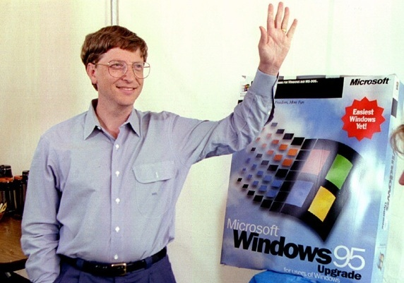 Bill Gates / Windows 95