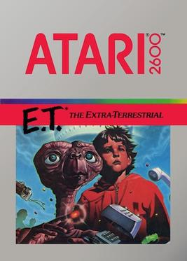 ET Atari Cartridge