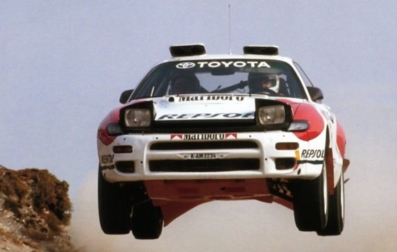 Toyota Rally Car