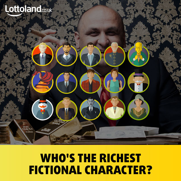 The Richest Fictional Characters