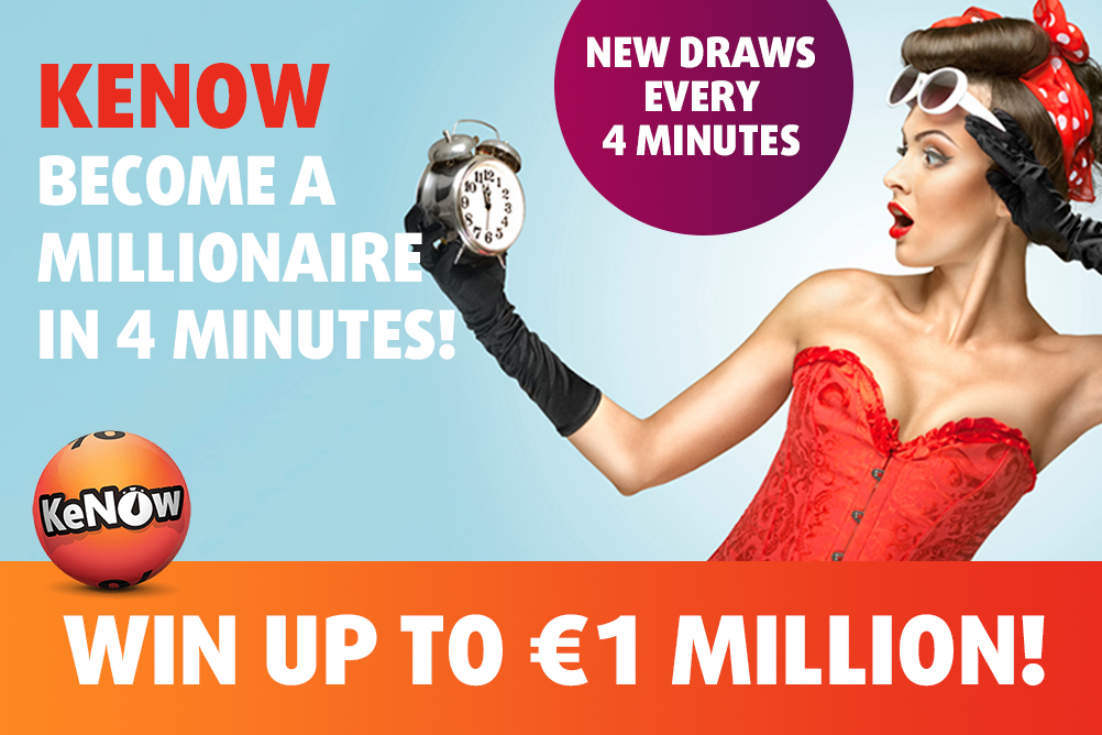 KeNow Jackpot - Exclusive To Lottoland!