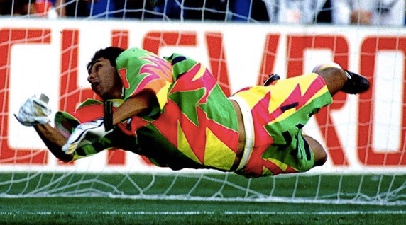 Mexican Keeper Jorge Campos