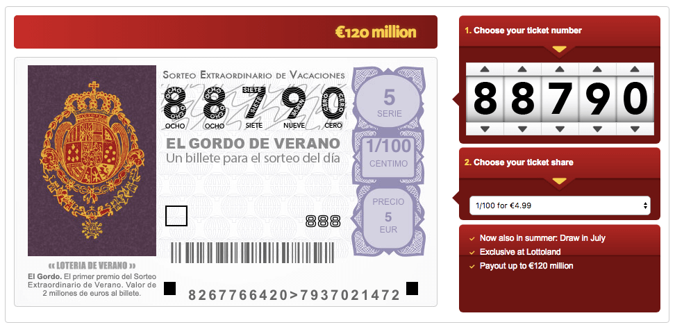 El Gordo de Verano: Spain's Summer Lottery