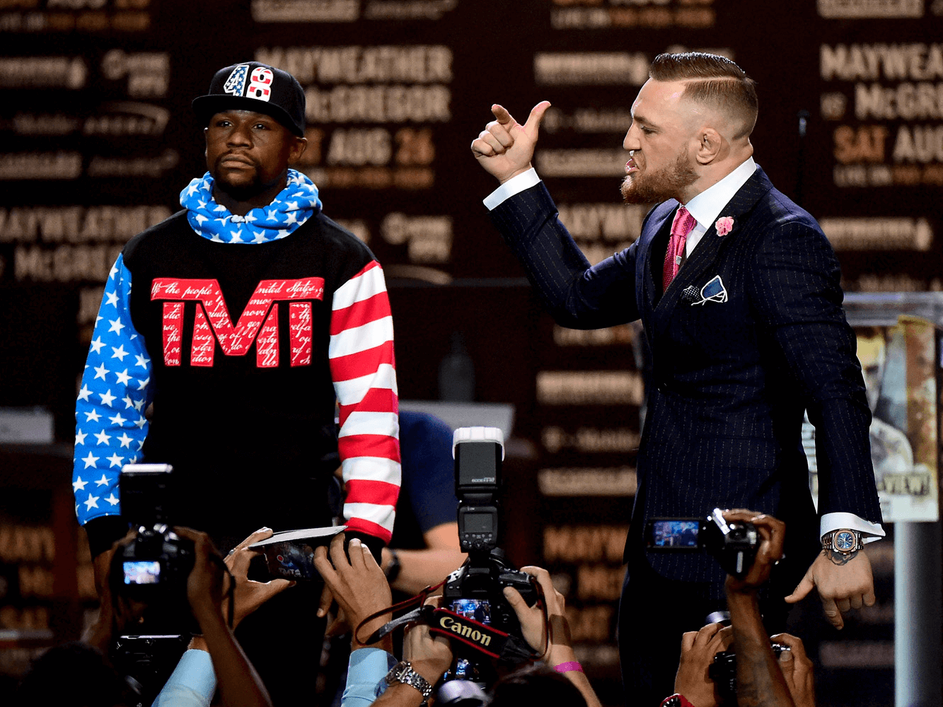 Mayweather vs McGregor: Who Would You Rather Be?