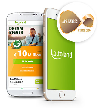 Lotto App • Lotteries on your Mobile • Download for IOS or Android