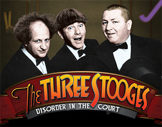 The Three Stooges: Disorder in the Court Slots - Play for Free Now