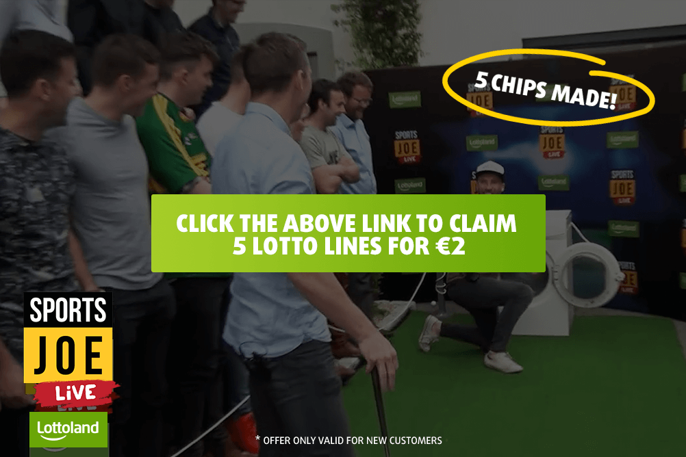 The Lottoland Chipping Challenge with SportsJOE