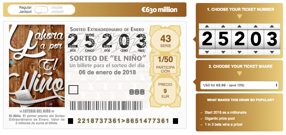 Guide To The El Niño Spanish Lottery