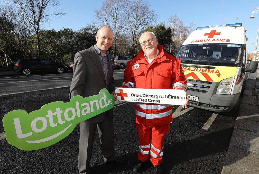 Lottoland and the Irish Red Cross